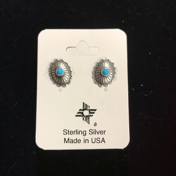 Jewelry - Turquoise & Silver Earings